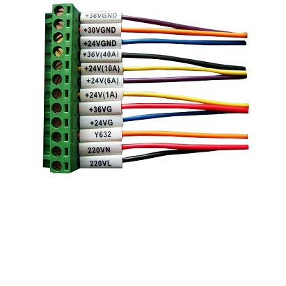 PVC标识管,PVC号码管,PVC线号管